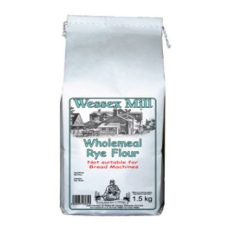 Wholemeal Rye Bread Flour Wessex Mill 1.5kg